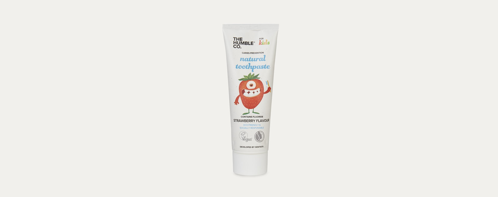 White The Humble Co. Natural Toothpaste
