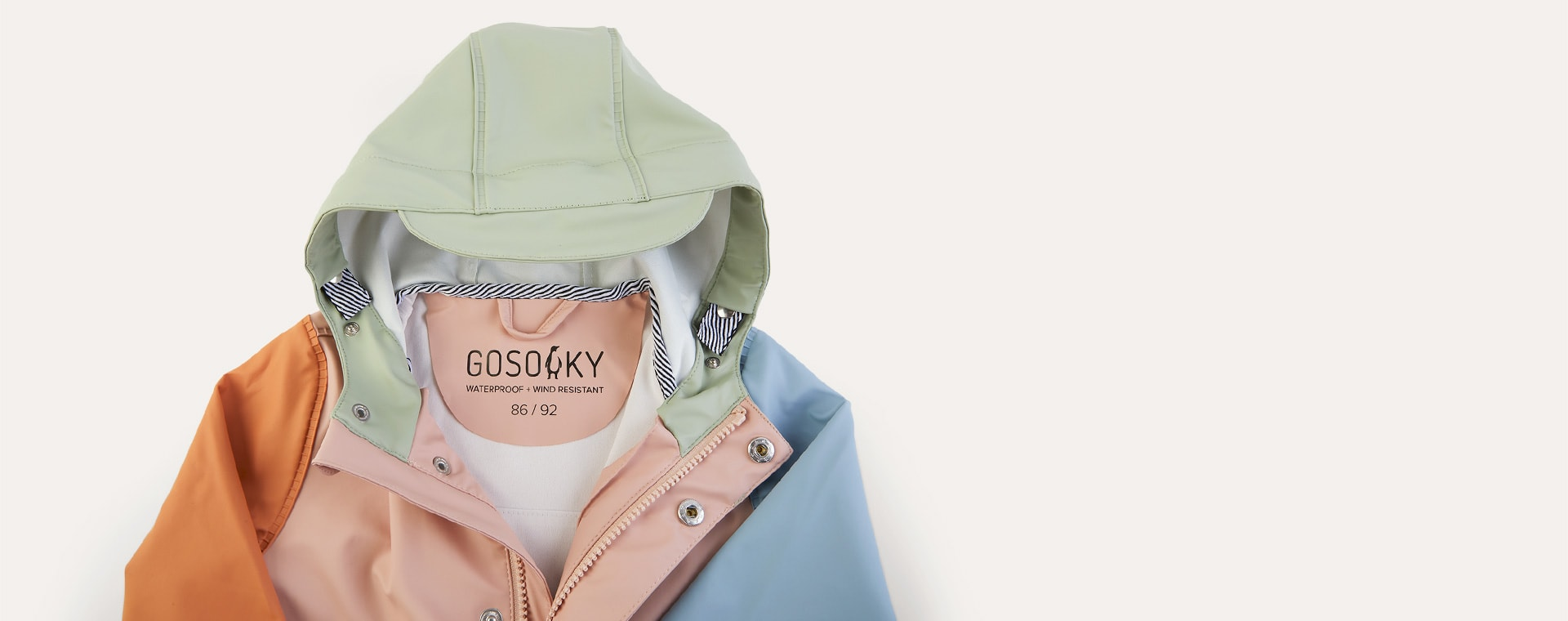 Multi Colour GOSOAKY Waterproof Unisex Jacket