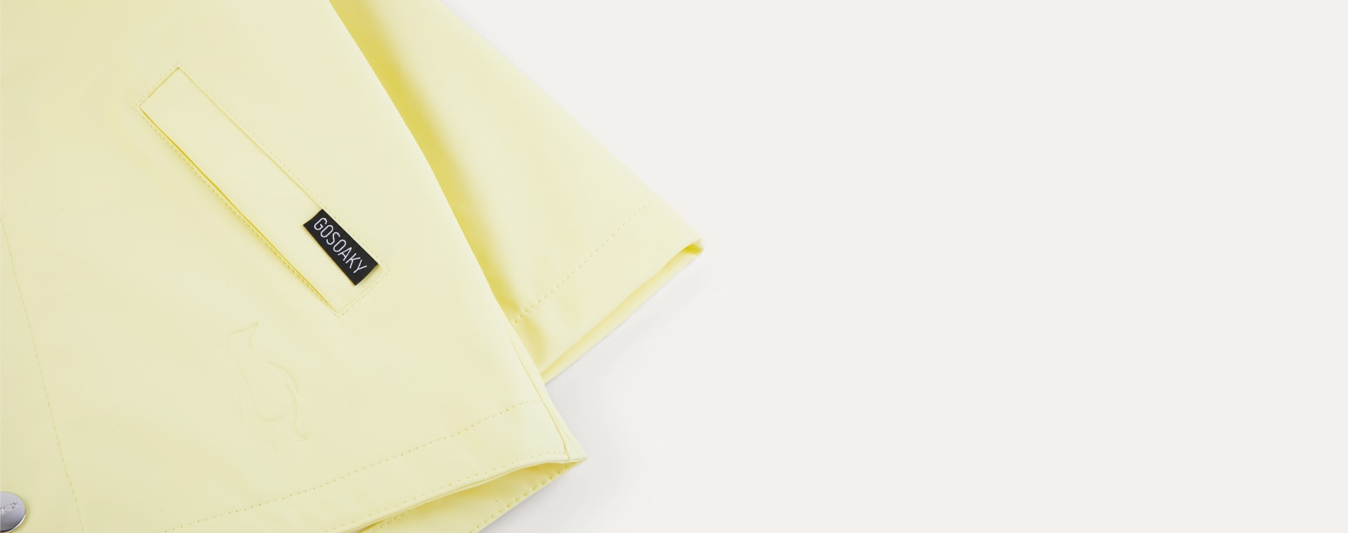 Lemon Yellow GOSOAKY Waterproof Unisex Jacket