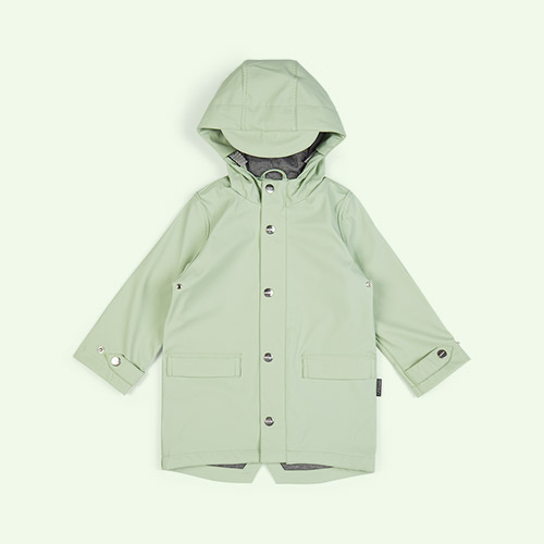 Pastel Green GOSOAKY Unisex Lined Raincoat