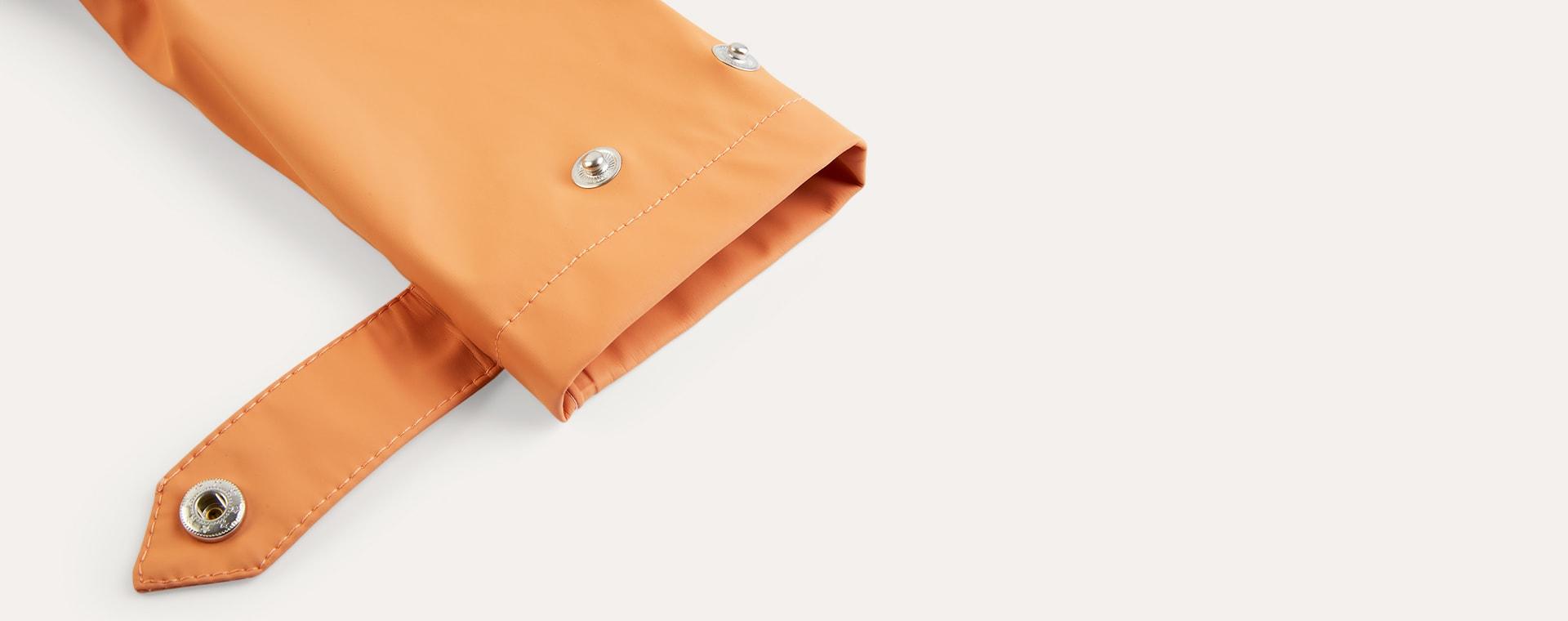 Terra Cotta GOSOAKY Unisex Lined Raincoat