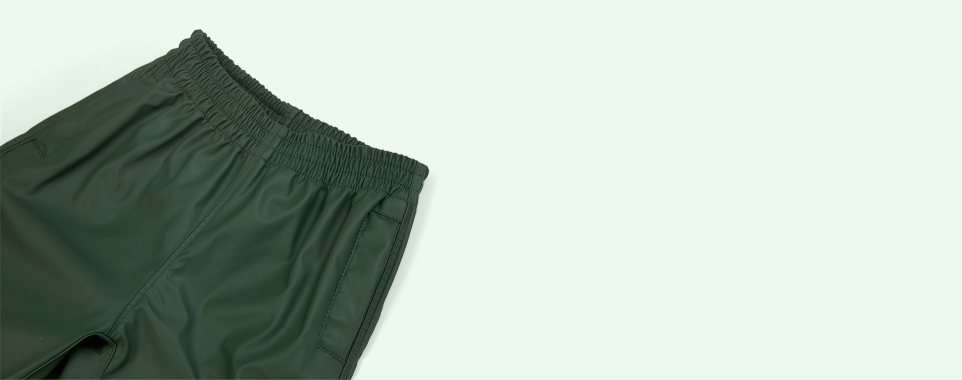 Green Forest GOSOAKY Unisex Waterproofs Rain Pants