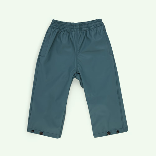 Sage Green GOSOAKY Unisex Waterproofs Rain Pants