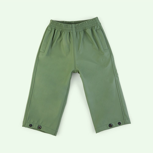 Sea Grass GOSOAKY Unisex Waterproofs Rain Pants