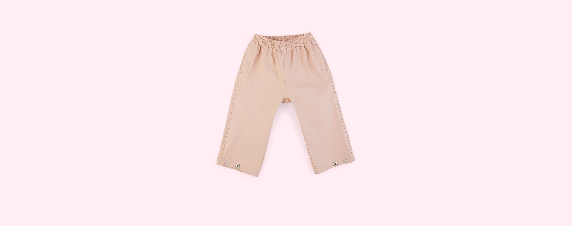 Evening Pink GOSOAKY Unisex Waterproof Rain Pants
