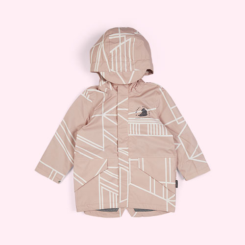 Evening Sand GOSOAKY Lined Parka