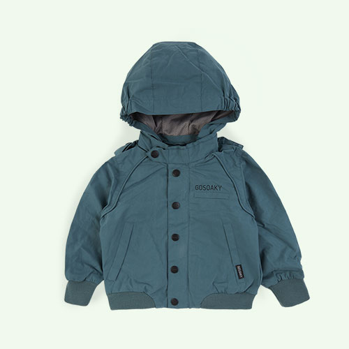 Sage Green GOSOAKY Short Lined Jacket