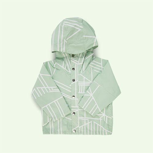 Green GOSOAKY Waterproof Jacket