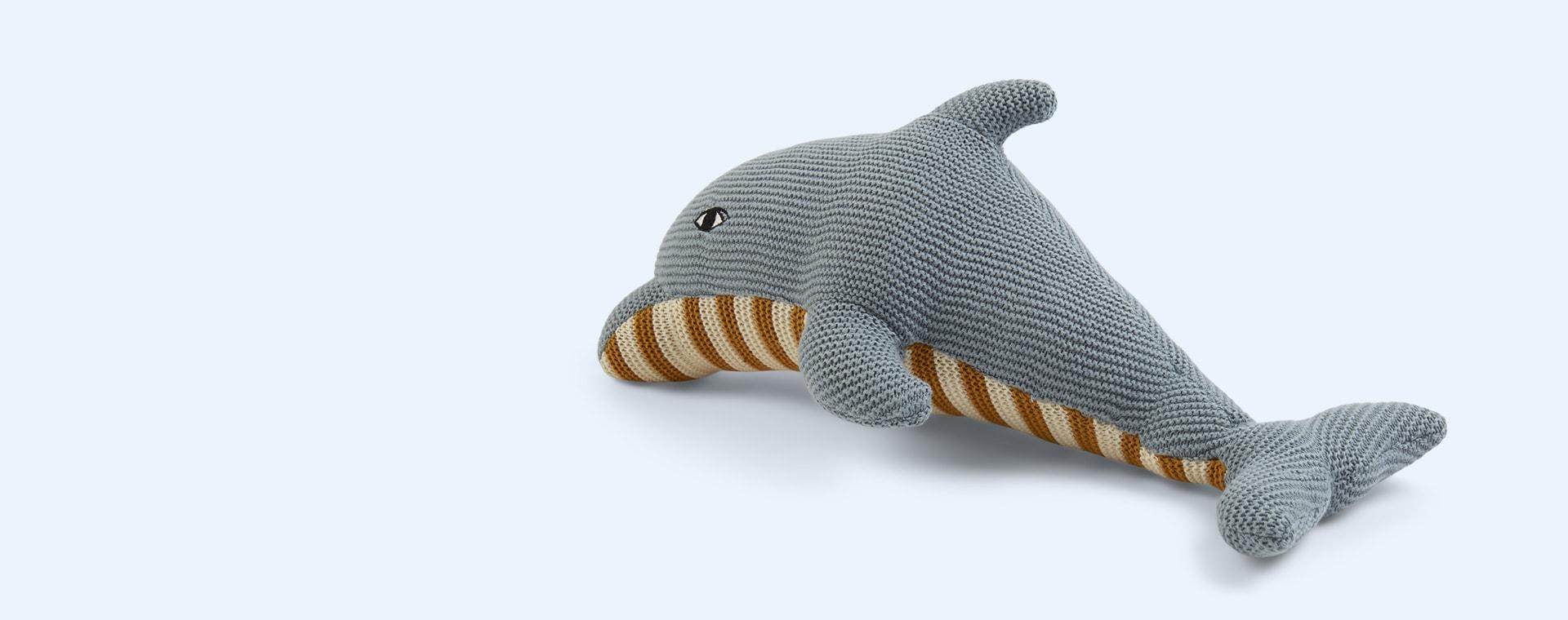 Dolphin Sea Blue Liewood Diver Teddy