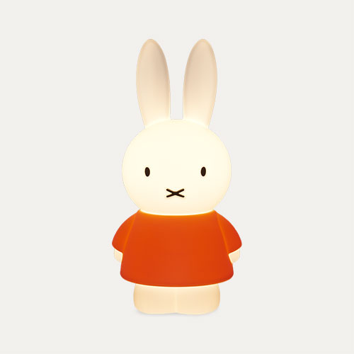 White Charlie & Friends Miffy Night Lamp