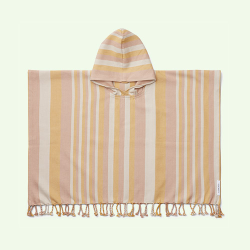 Peach/sandy/yellow mellow Liewood Roomie Poncho