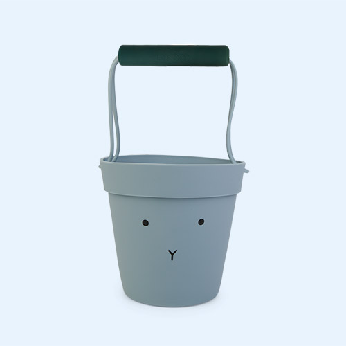 Rabbit sea blue mix Liewood Linda Silicone Bucket