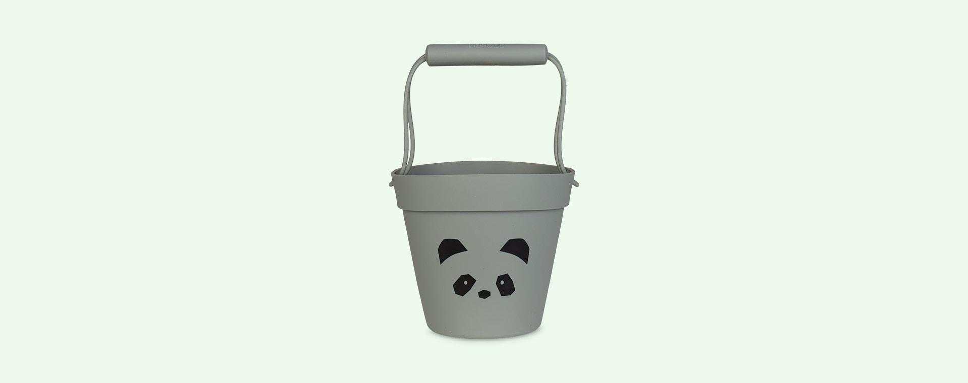 Panda Faune Green Liewood Linda Silicone Bucket