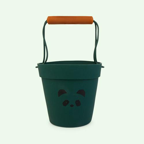 Panda garden green mix Liewood Linda Silicone Bucket