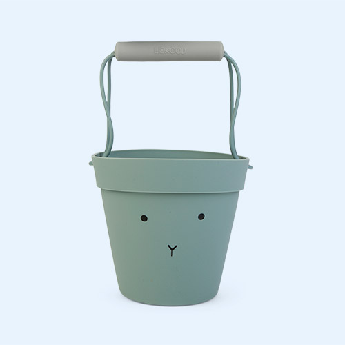 Rabbit peppermint mix Liewood Linda Silicone Bucket