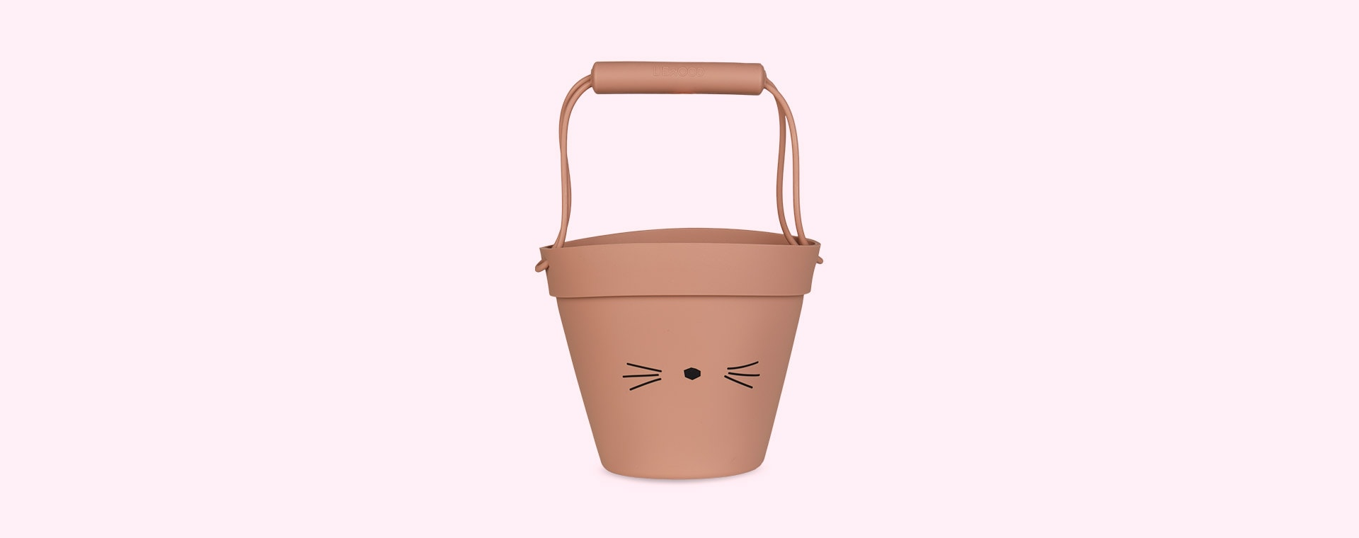 Cat Dark Rose Liewood Linda Silicone Bucket
