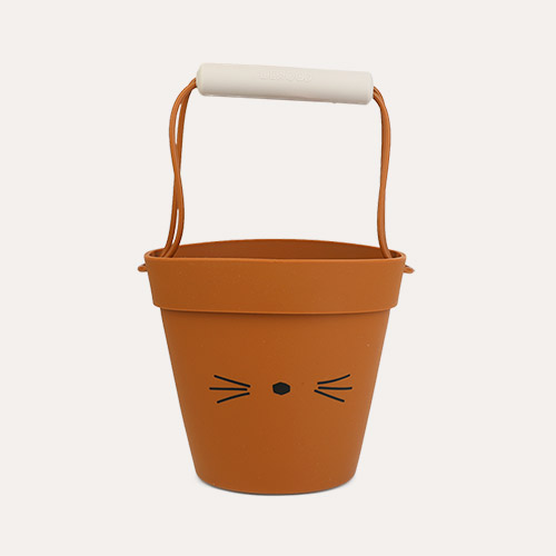 Cat mustard mix Liewood Linda Silicone Bucket