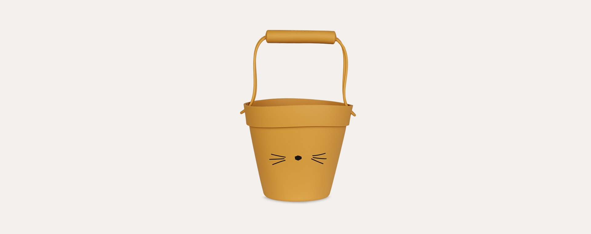Cat Yellow Mellow Liewood Linda Silicone Bucket