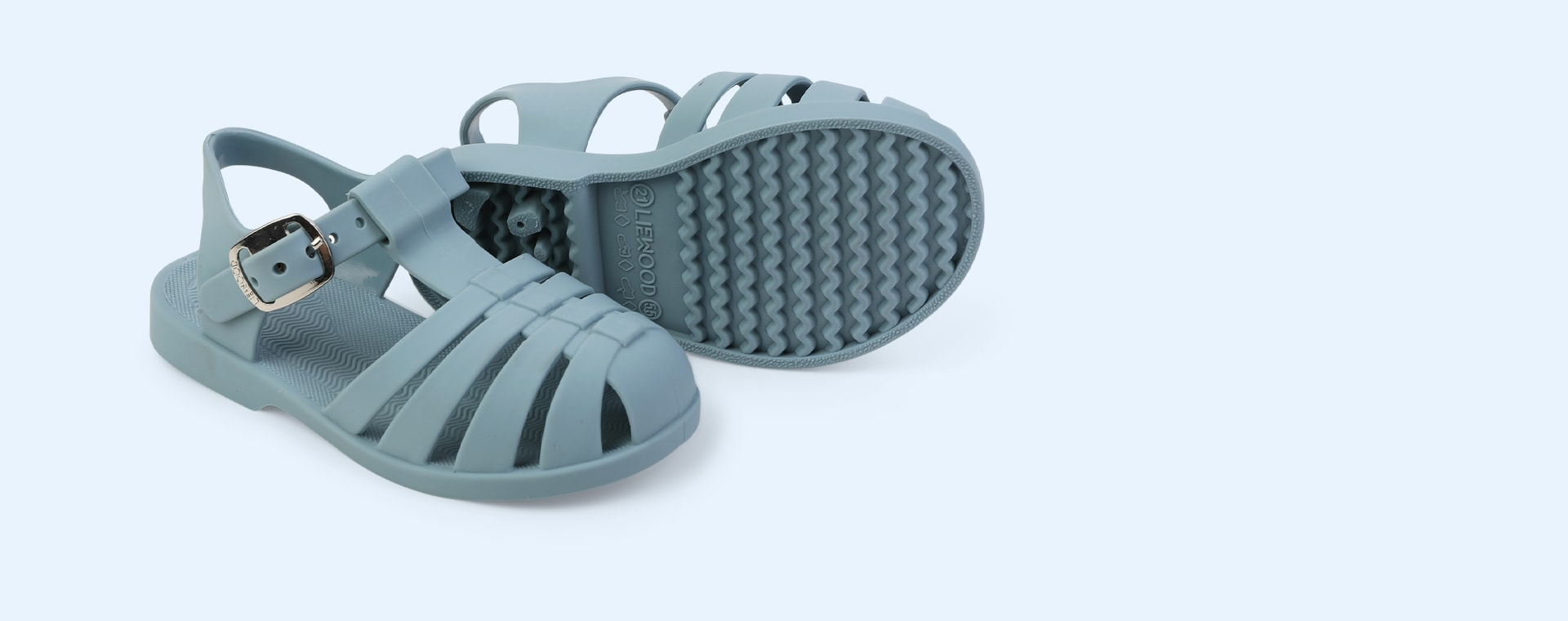New Sea blue Liewood Bre Jelly Sandals