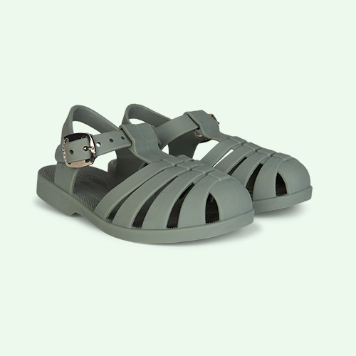 Faune Green Liewood Bre Jelly Sandals