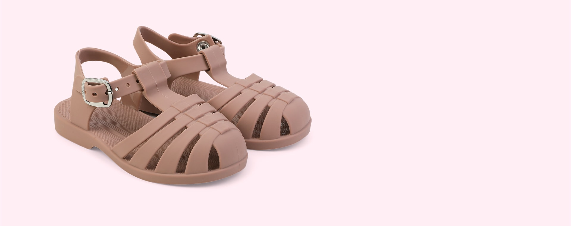 New Dark Rose Liewood Bre Jelly Sandals