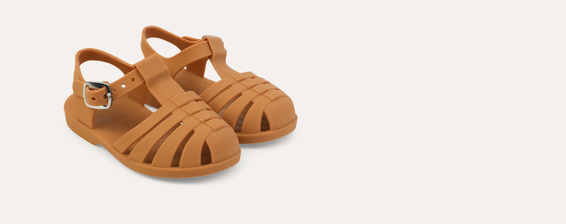 New Mustard Liewood Bre Jelly Sandals