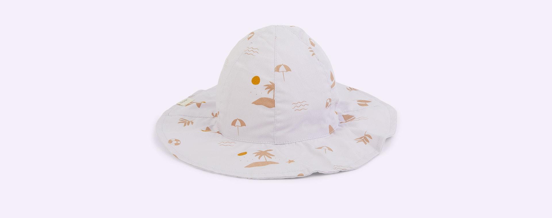Seaside Light Lavender Liewood Amelia Sun Hat