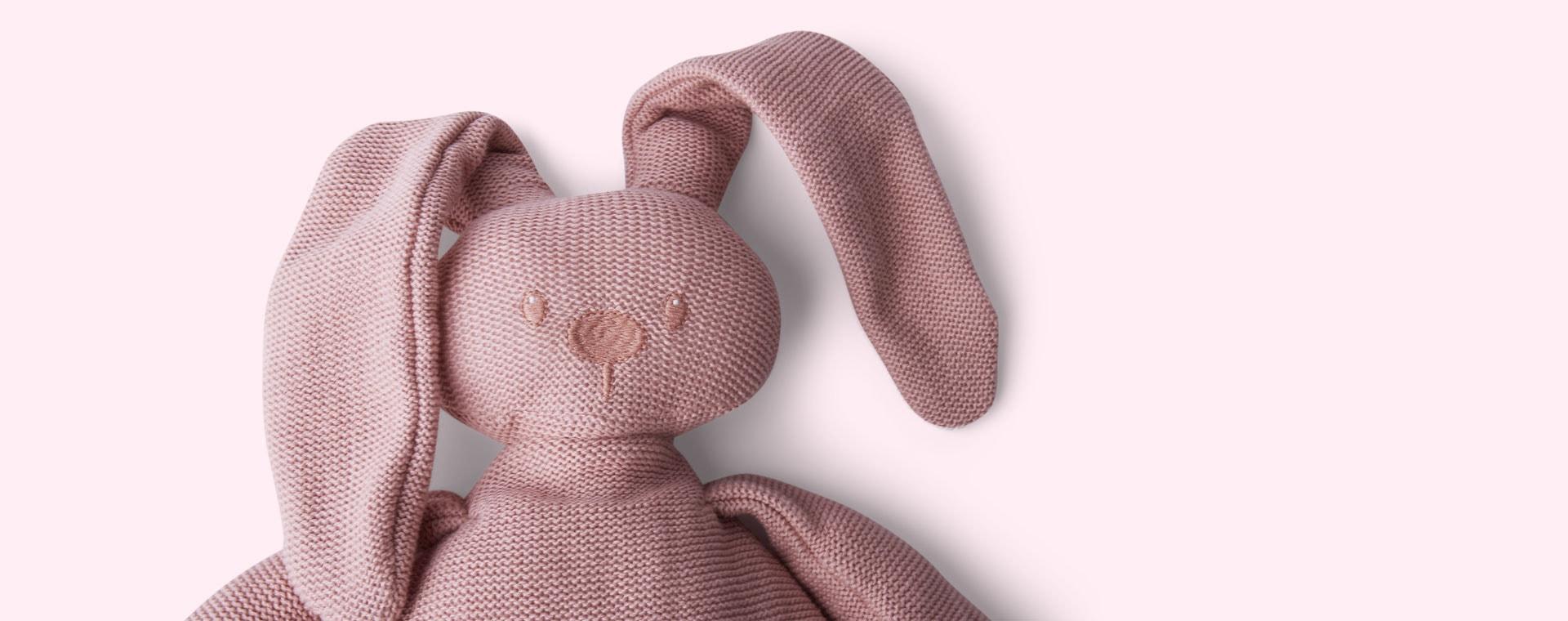Pink Nattou Cuddly Tricot
