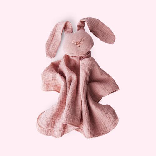 Pink Nattou Doudou Comforter