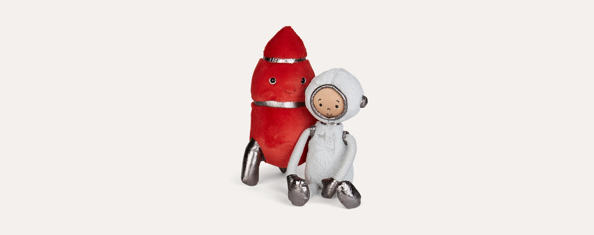 Red Jellycat Cosmopop Rocket
