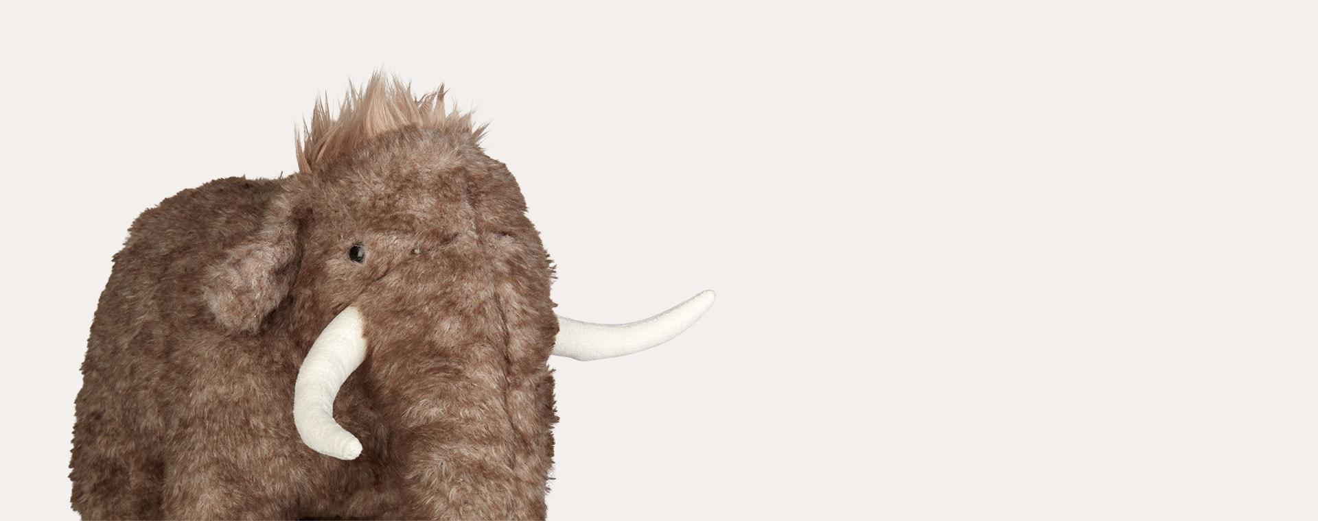 Grey Jellycat Cassius Woolly Mammoth