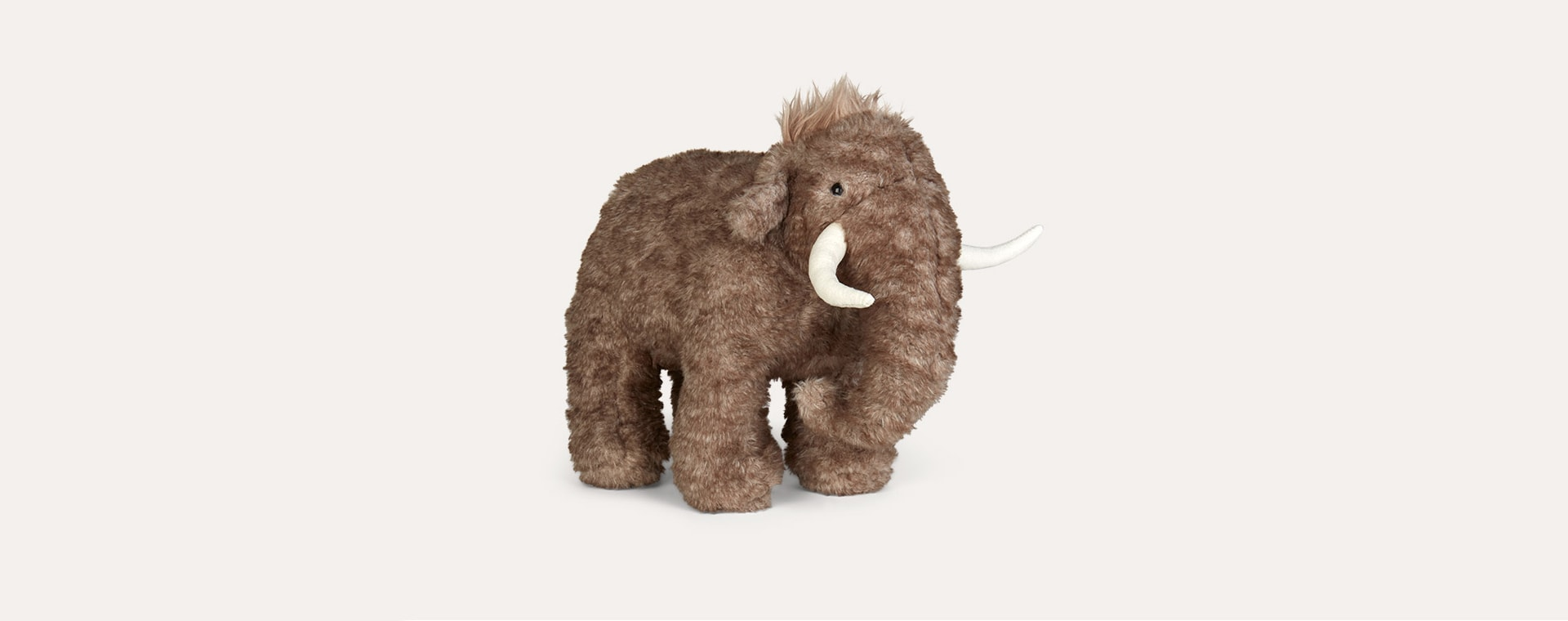 Grey Jellycat Cassius Woolly Mammoth