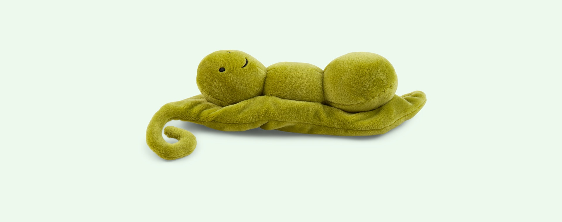Green Jellycat Vivacous Vegetable Pea