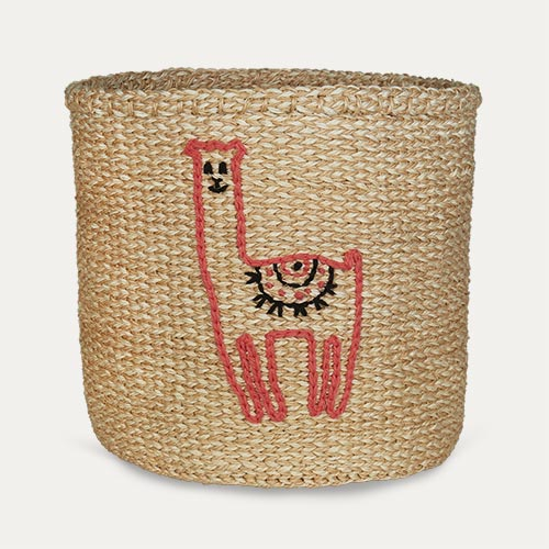 Llama The Basket Room Medium Llama Basket