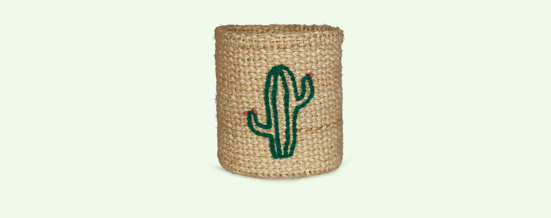 Neutral The Basket Room Small Cactus Basket