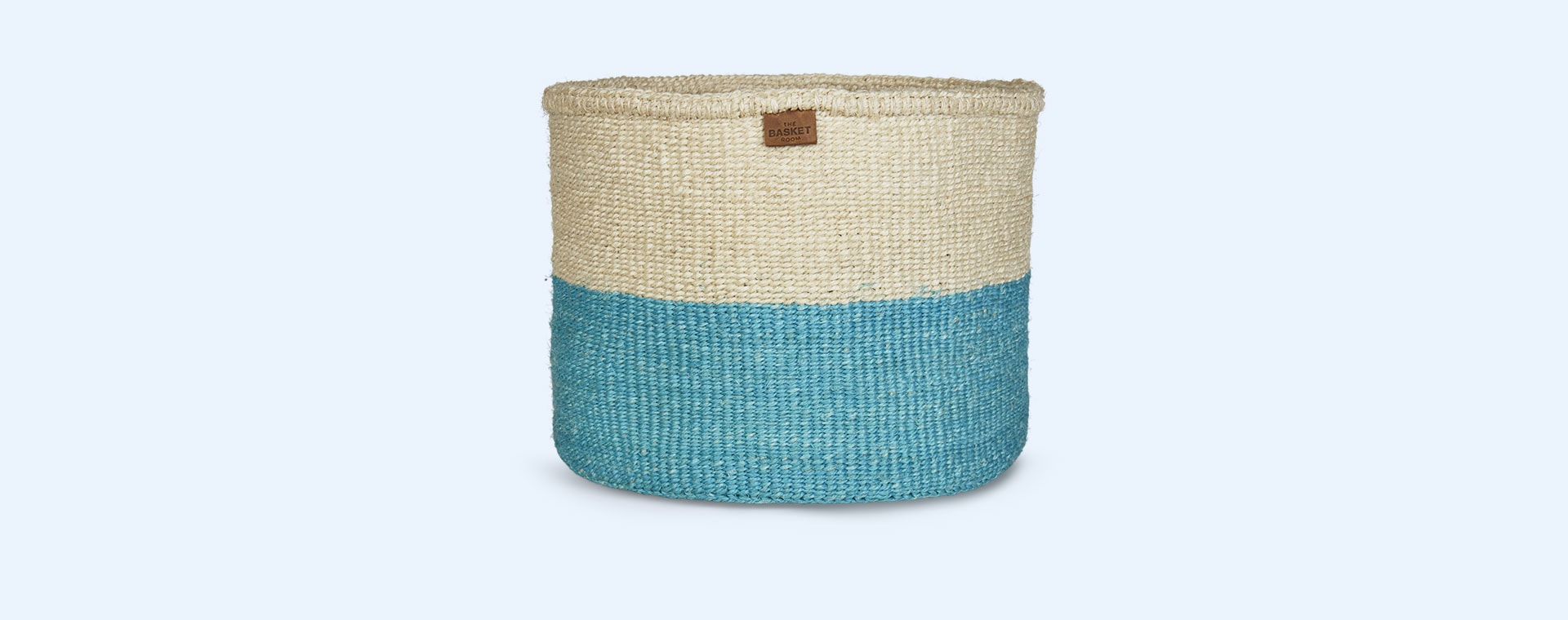 Turquoise The Basket Room Colour Block Basket