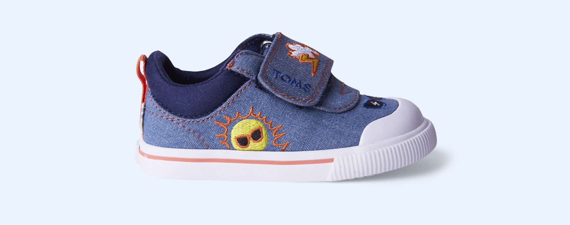 Blue TOMS Doheny Weather Embellished Sneaker