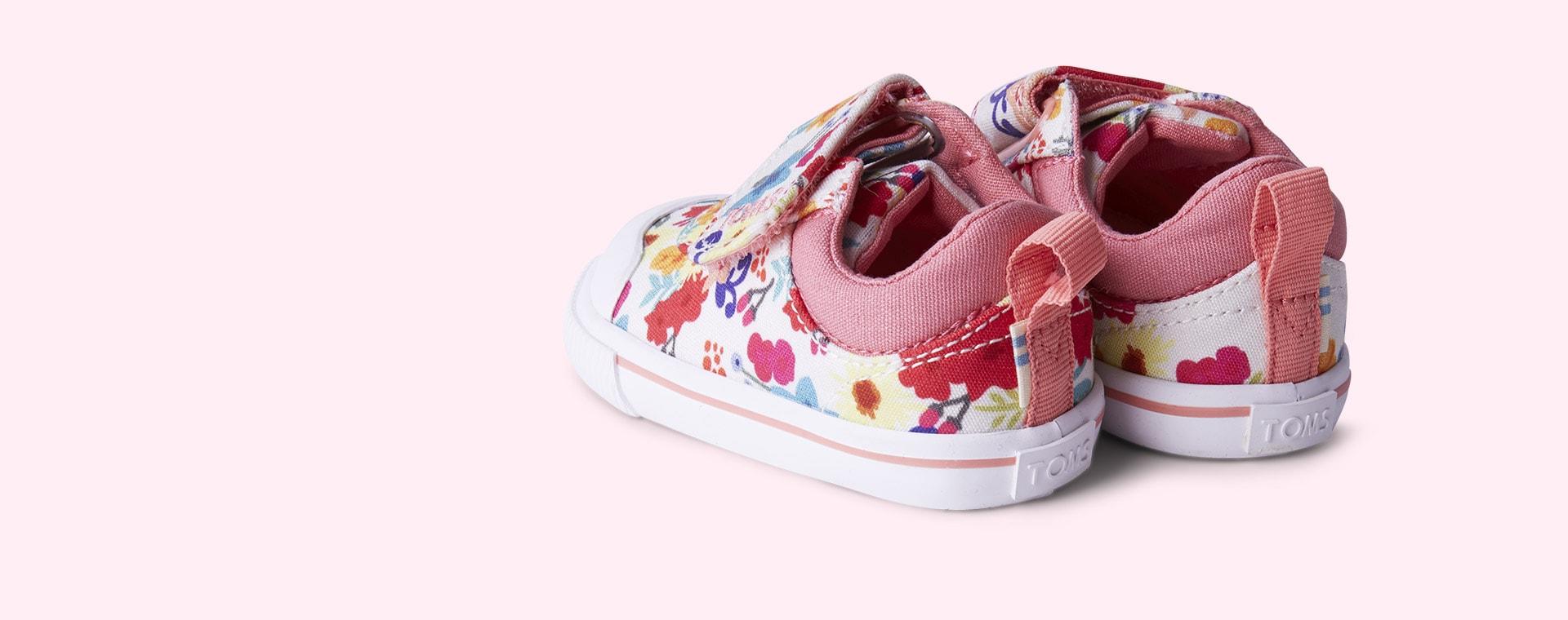 Multi TOMS Doheny Floral Print Sneaker
