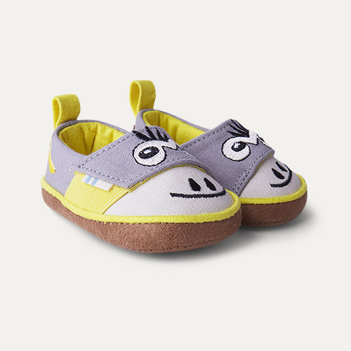 Grey TOMS Pinto Monkey Shoe
