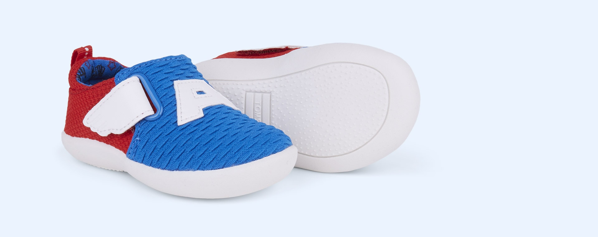 Blue TOMS Marvel Captain America Whiley Sneaker