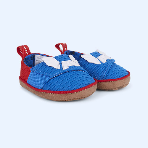 Blue TOMS Marvel Captain America Pinto Shoe