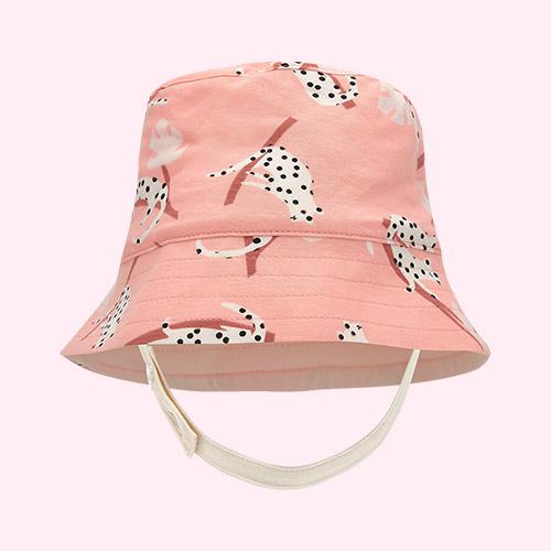 Peach Leopard The Bonnie Mob Bigsur Sun Hat