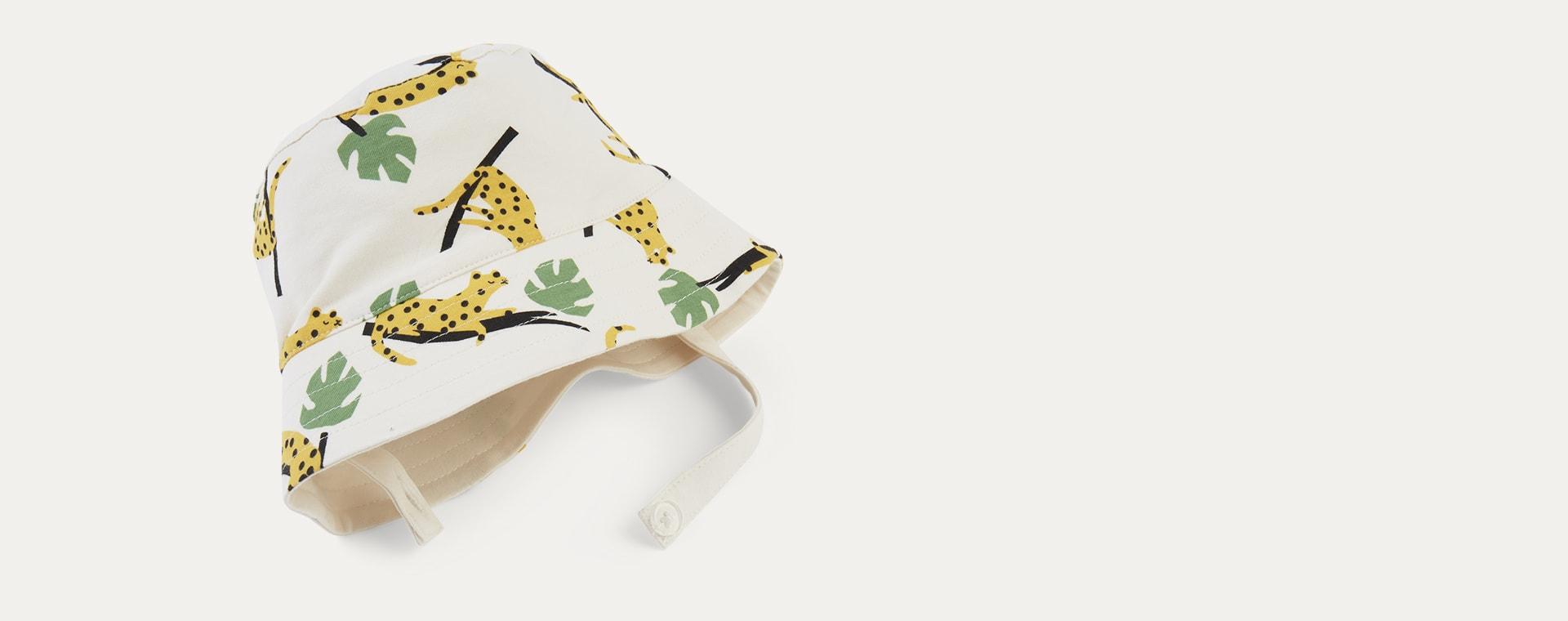 Mustard Leopard The Bonnie Mob Bigsur Sun Hat