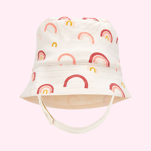 Peach Rainbow The Bonnie Mob Bigsur Sun Hat