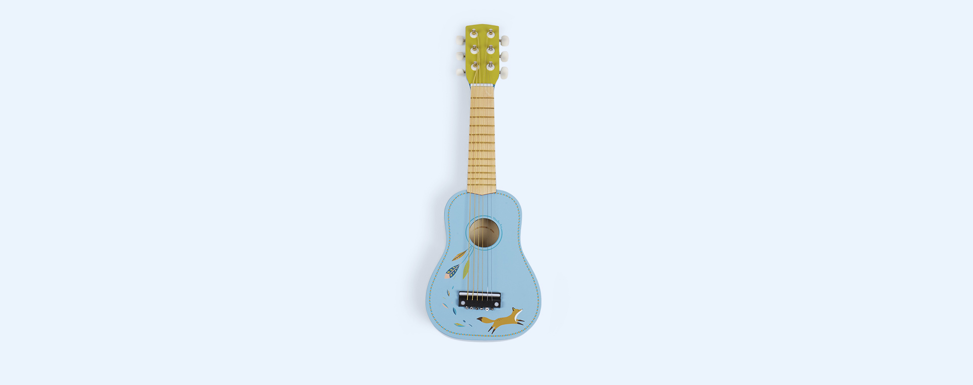 Turquoise Moulin Roty Guitar