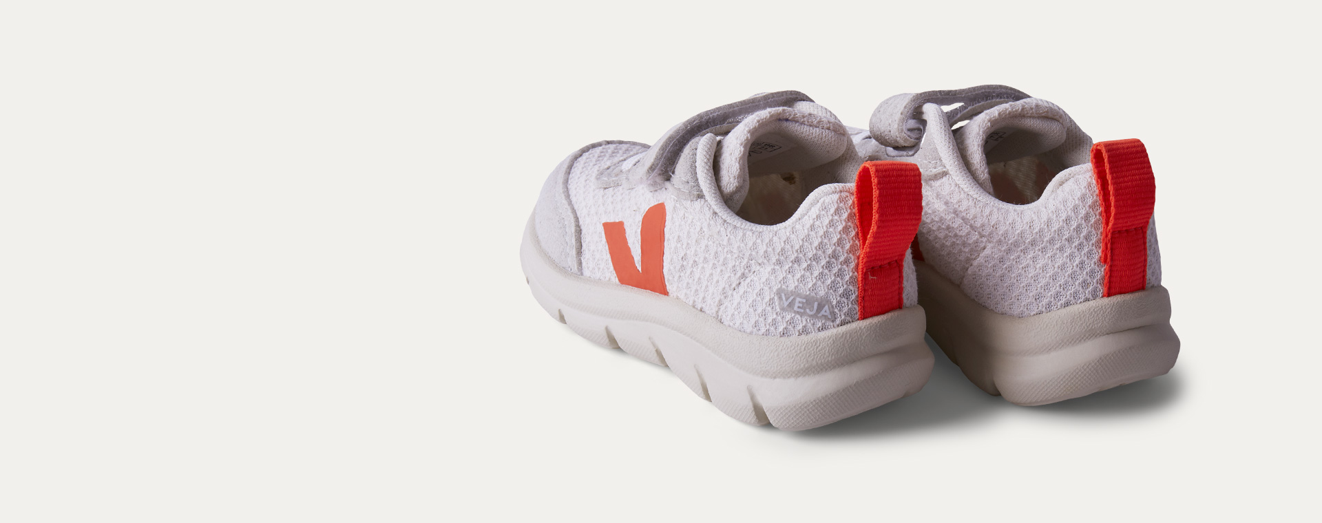 Gravel Orange Veja Vegan B-mesh Trainer