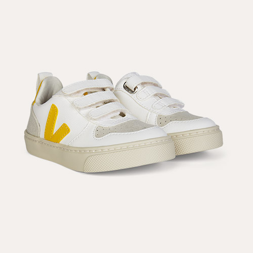 Tonic Yellow Veja V-10 Vegan Trainer