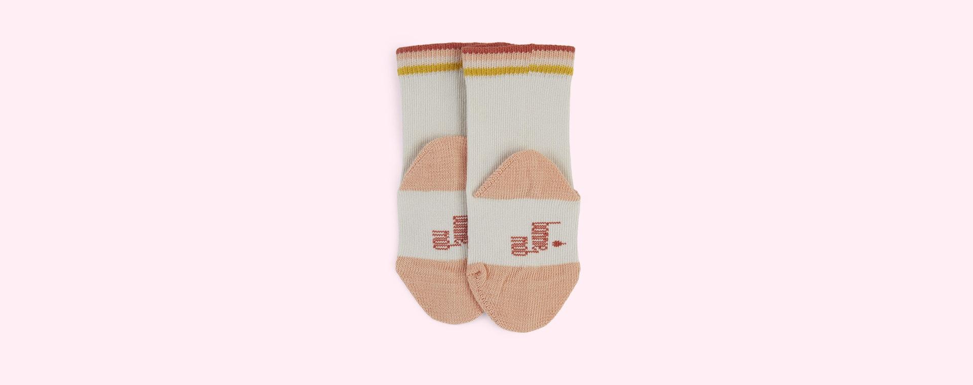 Peach The Bonnie Mob Rainbow Socks