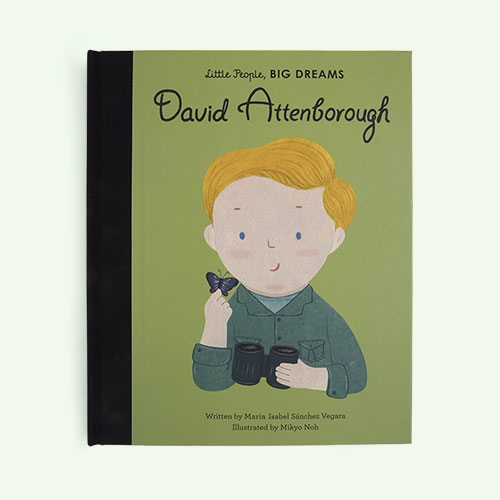 Green bookspeed Little People Big Dreams: David Attenborough