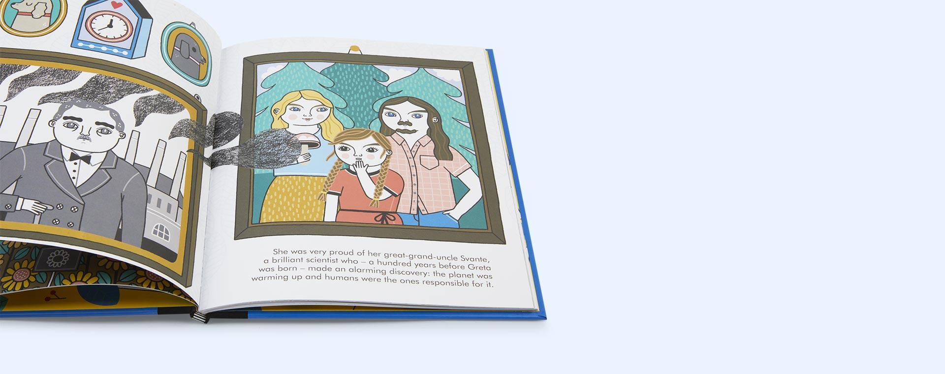 Blue bookspeed Little People Big Dreams: Greta Thunberg